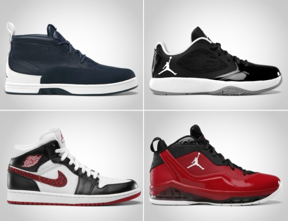 Jordan Brand June 2012 Footwear