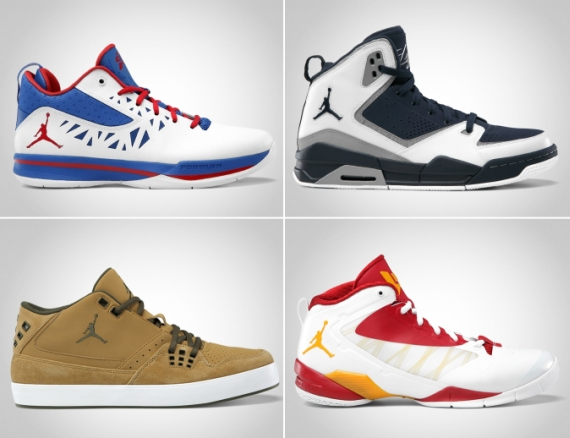 Jordan Brand May 2012 Footwear Update