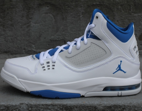 Jordan Flight 23 RST: White   Military Blue   Neutral Grey