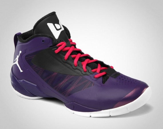 Jordan Fly Wade 2 EV: Club Purple   White   Black   Spark