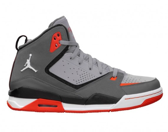 Jordan SC 2: Stealth   Dark Grey   Team Orange