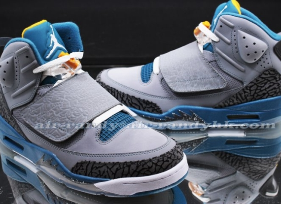 Jordan Son Of Mars: Grey/Blue   New Images