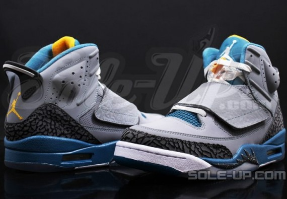 Jordan Son of Mars: Stealth   Blue   University Gold | New Images