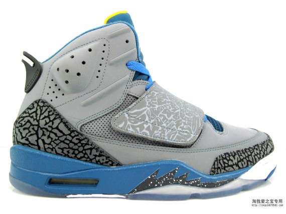 Jordan Son of Mars: Stealth  Blue  University Gold | New Photos