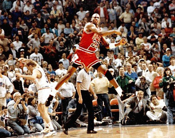 May 7th, 1989: Michael Jordan Hits The Shot Over Craig Ehlo