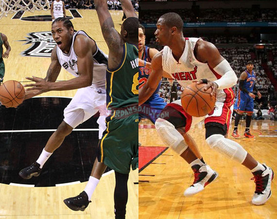 NBA Jordans On Court: April 30th   May 2nd