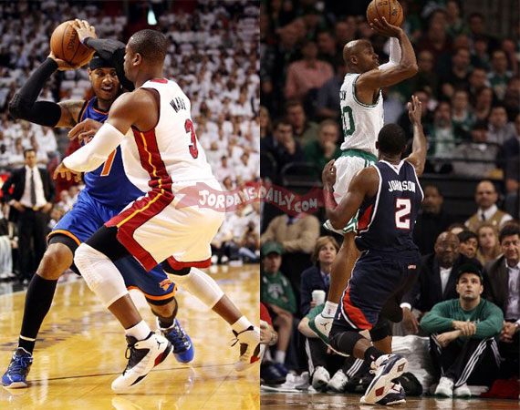 NBA Jordans On Court: May 9th 10th