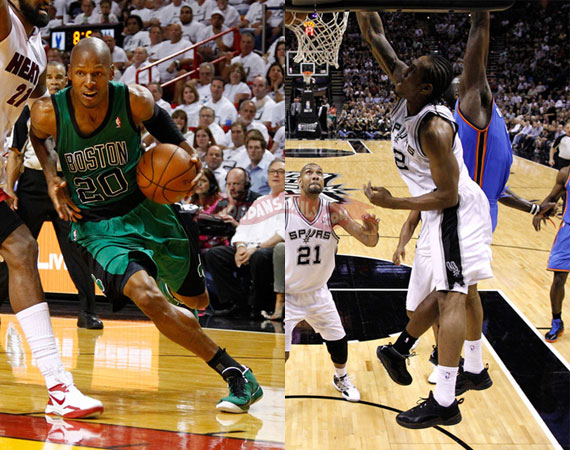 NBA Jordans On Court: May 28th   29th
