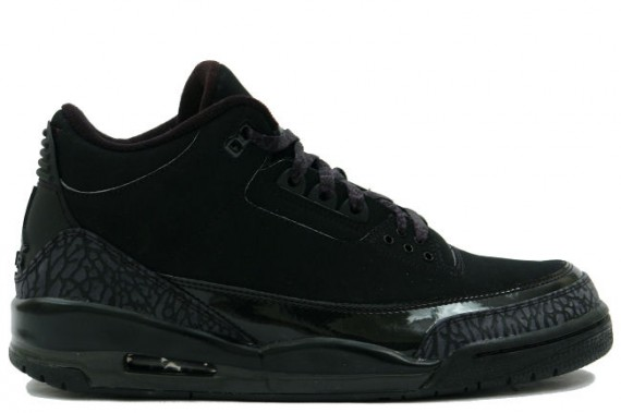 The Daily Jordan: Air Jordan III Black Cat   2007