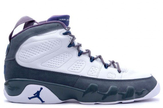 The Daily Jordan: Air Jordan IX   White   French Blue   Flint Grey   2002