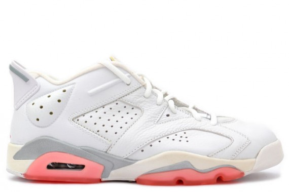 The Daily Jordan: Air Jordan VI Low WMNS   White   Coral Rose