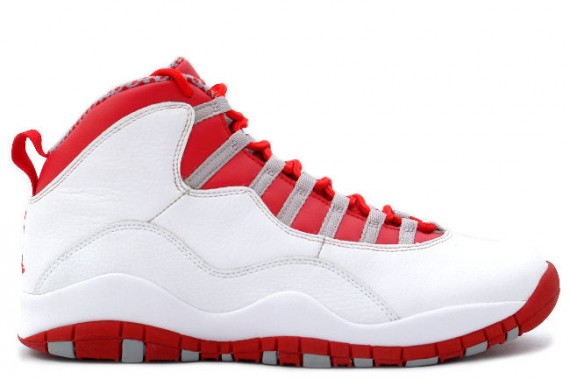 The Daily Jordan: Air Jordan X   White   Varsity Red   2005