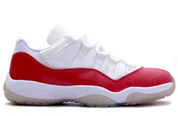 The Daily Jordan: Air Jordan XI Low   White   Varsity Red   2001