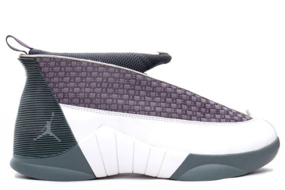The Daily Jordan: Air Jordan XV   Flint Grey   White   2000