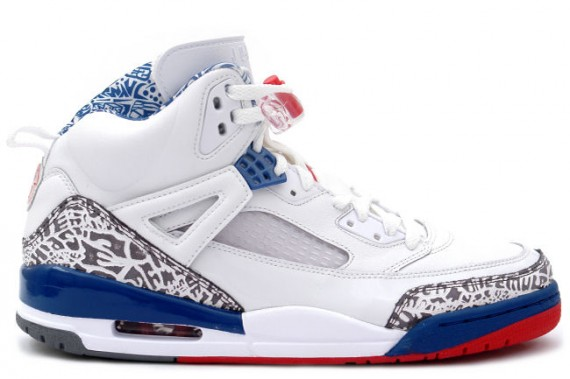 The Daily Jordan: Jordan Spizike   White   Varsity Red   True Blue   2007