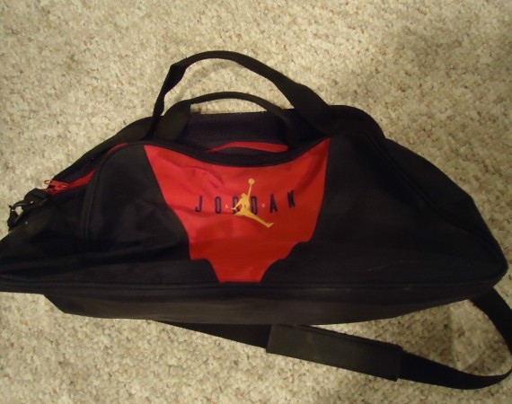 Vintage Gear: Air Jordan Gym Duffel Bag