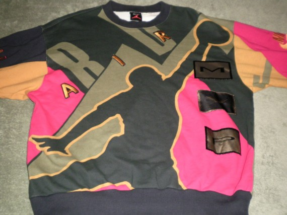 Vintage Gear: Air Jordan MVP Crewneck Sweater
