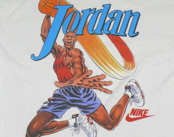 Vintage Gear: Air Jordan VI Infrared T Shirt