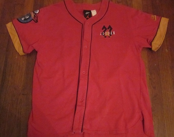 Vintage Gear: Air Jordan VII Baseball Jersey