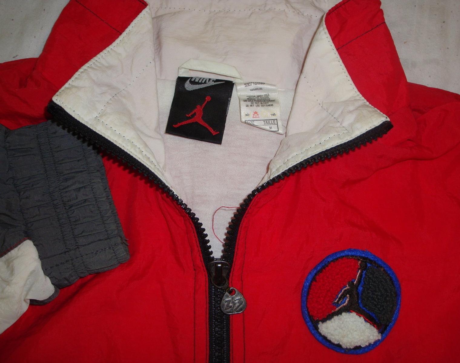 vintage nike air jordan jacket