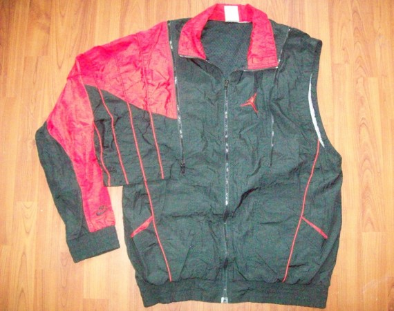 Vintage Gear: Convertible Air Jordan Windbreaker
