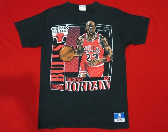 Vintage Gear: Michael Jordan Bulls Nutmeg Mills T Shirt