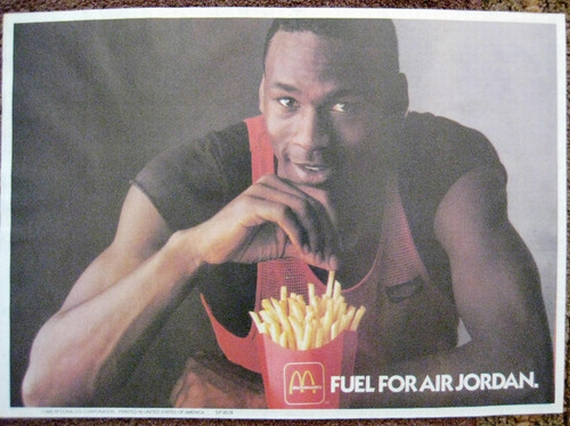 Vintage Gear: Michael Jordan McDonalds Tray Mat