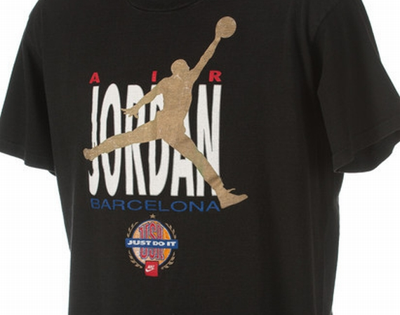 Vintage Gear: Nike Air Jordan Barcelona 1992 T Shirt