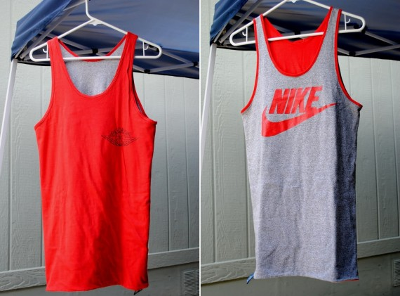 Vintage Gear: Reversible Nike Air Jordan Wings Tank