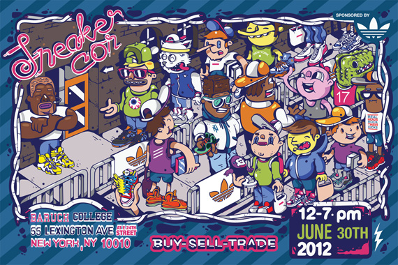 Sneaker Con NYC June 2012: Event Reminder