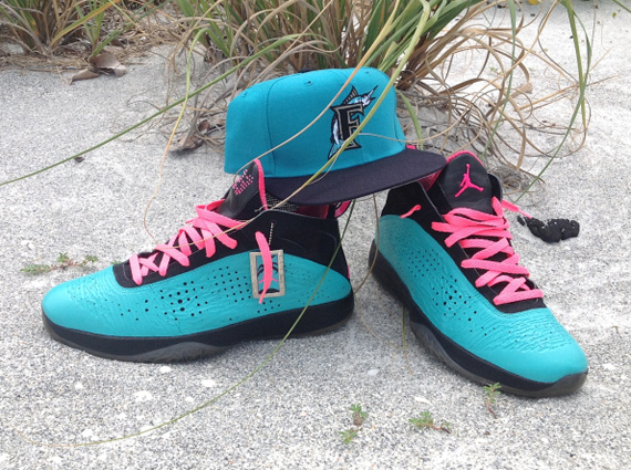 Air Jordan 2011: South Beach Customs by ShowtimeXII