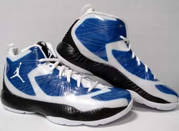 Air Jordan 2012 Lite: White   Blue   Black