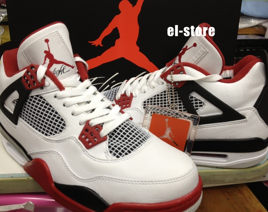 pretty nice adeaf c1d98 The Air Jordan IV in white varsity red black pictured here is a sneaker  that should have people showing up on release day for plenty of different  reasons.