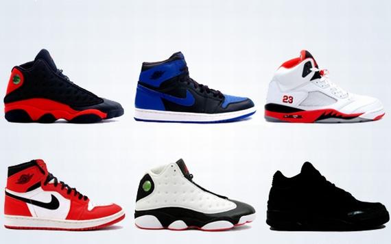 Air Jordan Retro Releases: Spring 2013