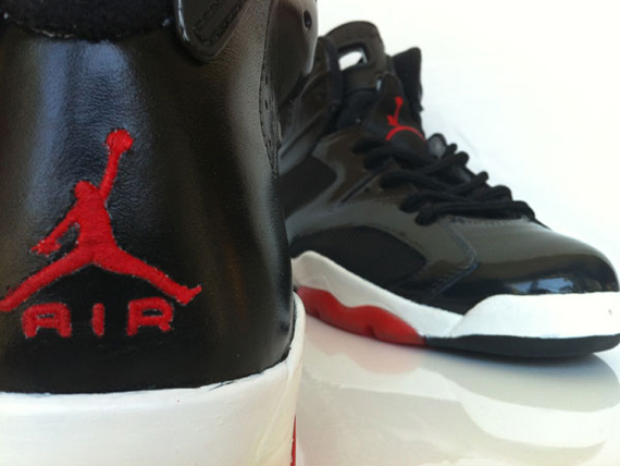 Air Jordan VI: Bred Customs by LOBE