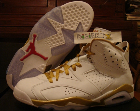 Air Jordan VI: Golden Moments   Available Early on eBay