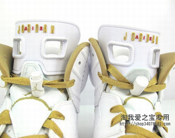 Air Jordan VI: Golden Moments   New Images