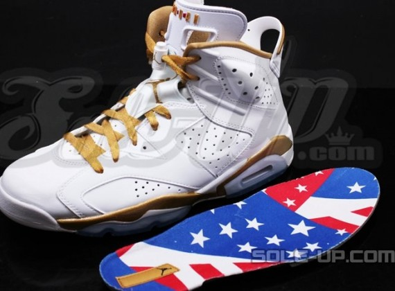 Air Jordan VI: Golden Moments   New Photos