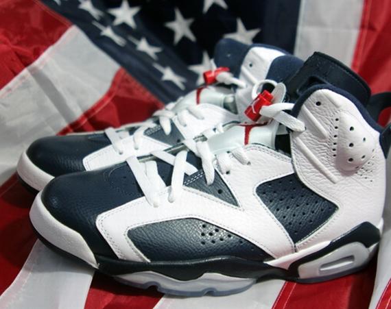 Air Jordan VI: Olympic Arriving in Stores