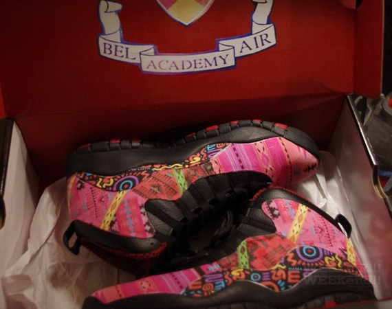 Air Jordan X: Fresh Prince of Bel Air Customs