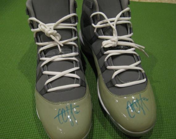 "Air Jordan XI: ""Cool Grey"" – C.C. Sabathia Autographed PE"