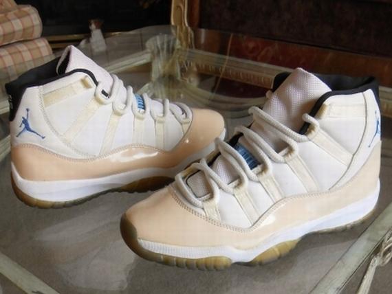 Original pairs of the Air Jordan XI ...