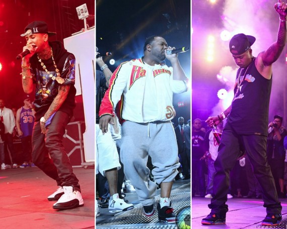 Air Jordans On Stage at HOT 97 Summer Jam 2012
