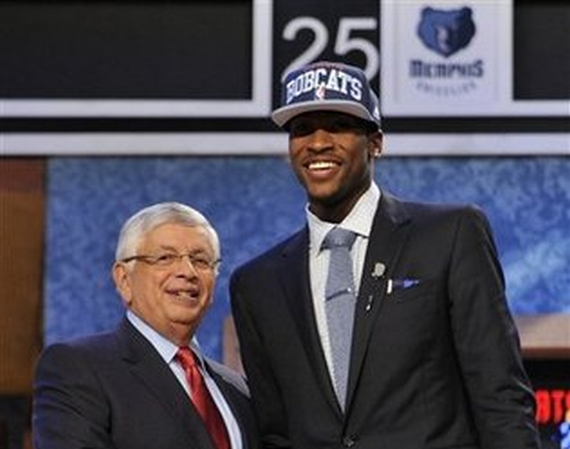 Charlotte Bobcats Select Michael Kidd Gilchrist as No. 2 Pick in 2012 NBA Draft