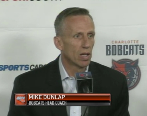 Charlotte Bobcats Officially Announce Mike Dunlap as Head Coach