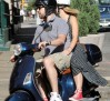 **EXCLUSIVE** Jason Sudeikis and new girlfriend Olivia Wilde Vespa around New York
