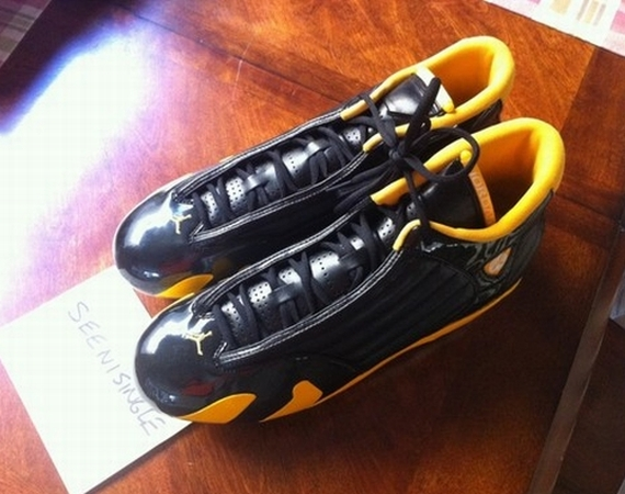 Air Jordan XIV: Jason Taylor Cleat PE