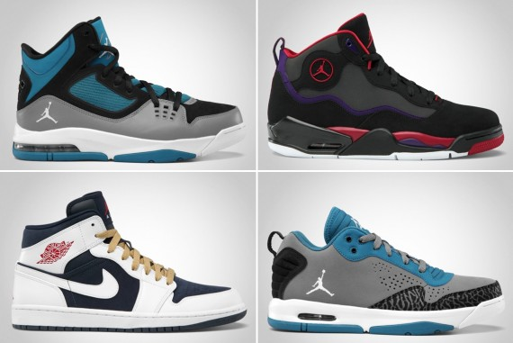 Jordan Brand July 2012 Footwear