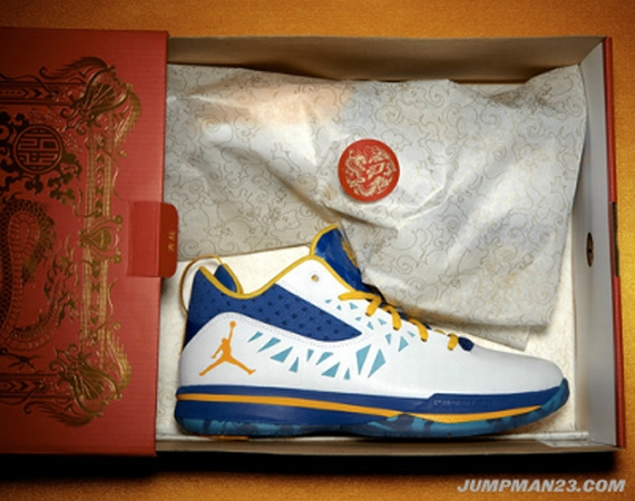 "Jordan CP3.V: ""Year Of The Dragon"" – New Images"