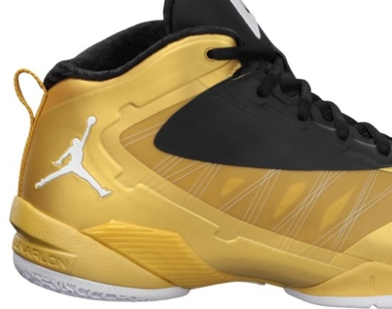 reputable site bc76a 9aea1 ... hot jordan fly wade 2 ev metallic gold coin black white available acb68  c767d